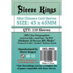 43 x 65 mm CHIMERA MINI Sleeve Kings 110 units