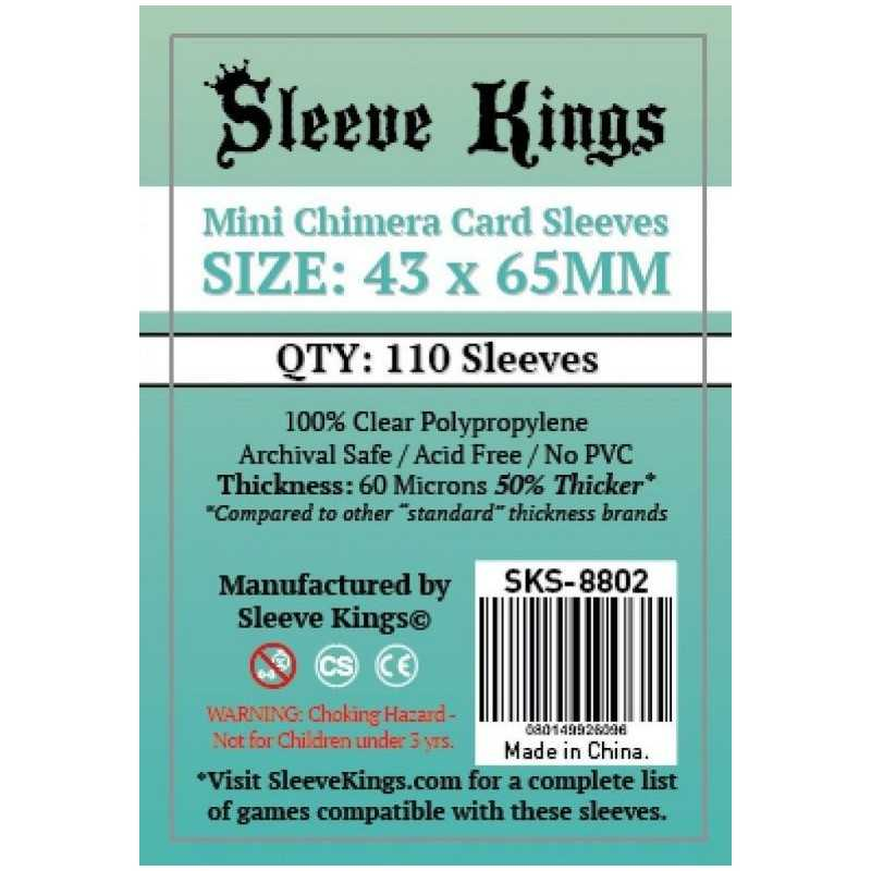 43 x 65 mm CHIMERA MINI Sleeve Kings 110 units