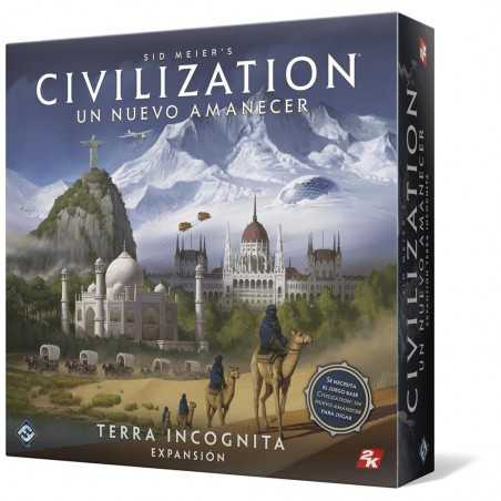 Sid Meier's Civilization TERRA INCOGNITA expansión