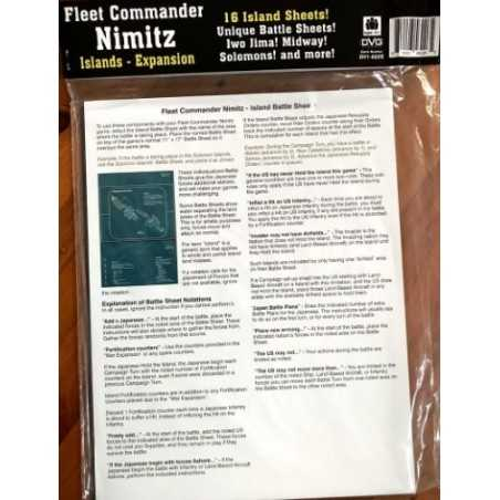 Fleet Commander Nimitz Island expansion
