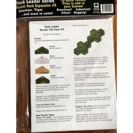 Tank Leader Terrain Tile pack 2
