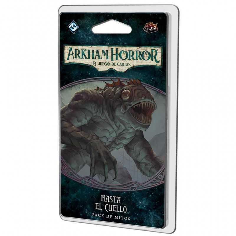 Hasta el cuello Arkham Horror el juego de cartas