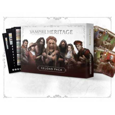 Expansión pack de recarga (reload pack) Vampiro la Mascarada HERITAGE