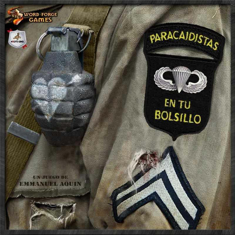 D-Day Dice Paracaidistas en tu bolsillo