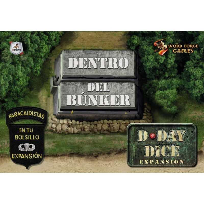 D-Day Dice Dentro del Bunker