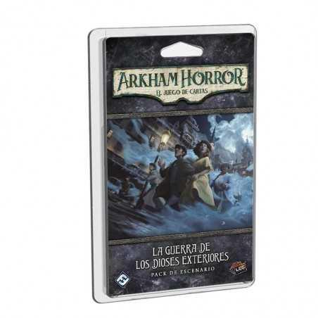 La guerra de los Dioses Exteriores Arkham Horror el juego de cartas
