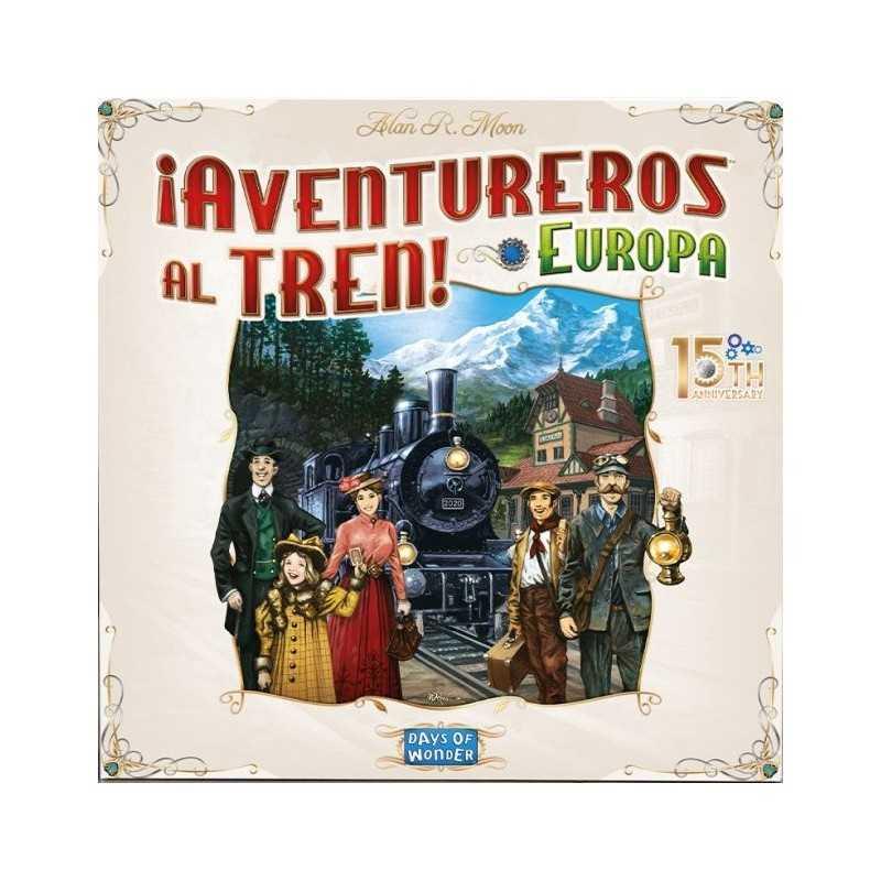 Aventureros al Tren EUROPA Edicion 15 Aniversario PREVENTA