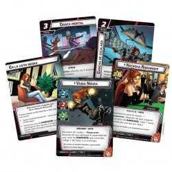 VIUDA NEGRA Marvel Champions el Juego de Cartas