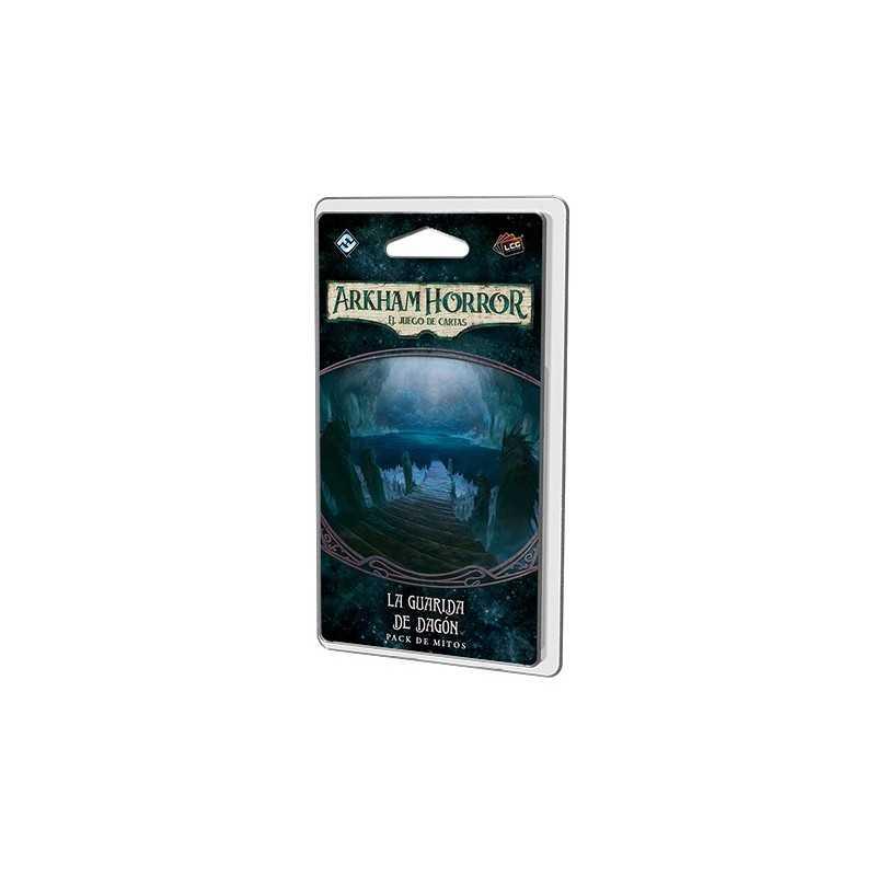 La guarida de Dagón Arkham Horror el juego de cartas