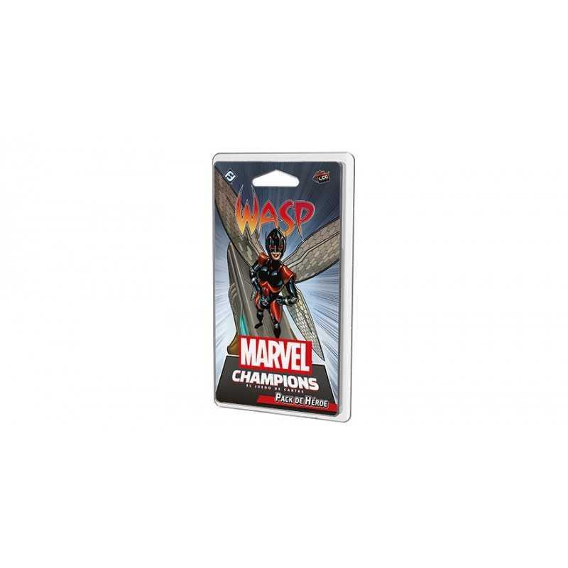 Wasp Marvel Champions el Juego de Cartas