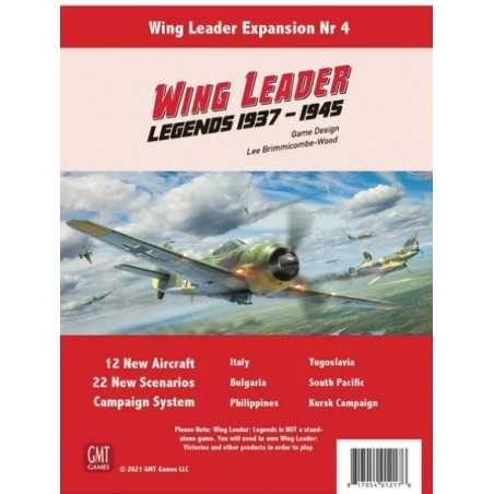 Wing Leader Legends 1937-1945
