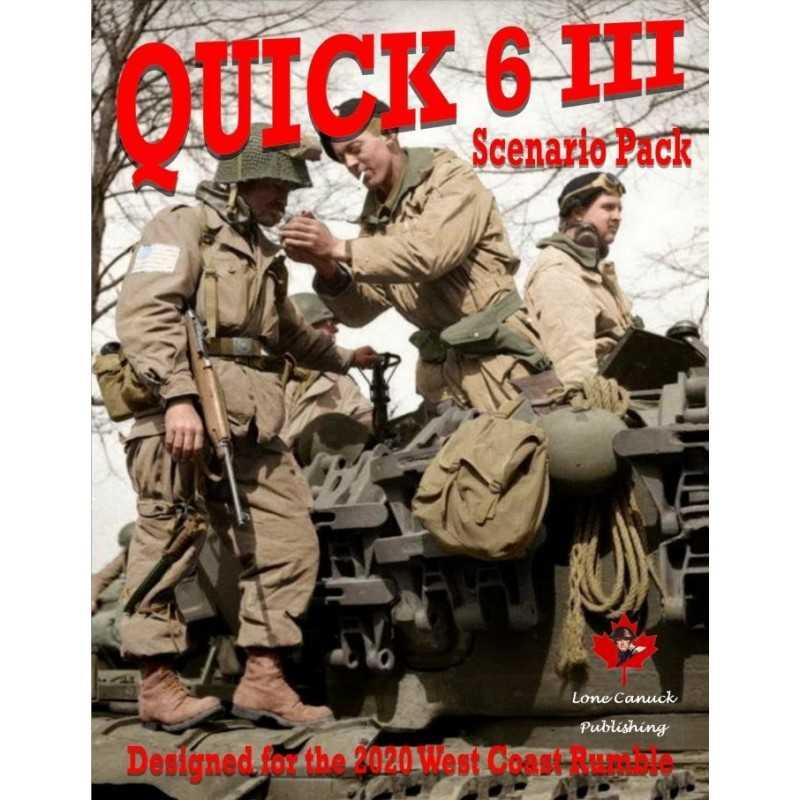 ASL Quick 6 III Scenario Pack