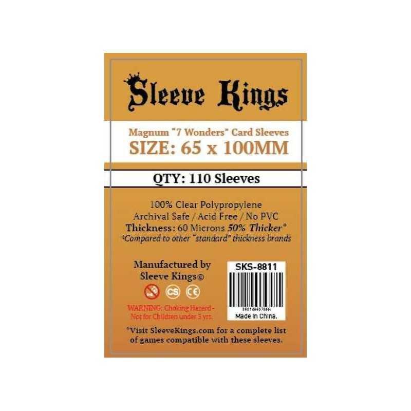 65 X 100 mm Fundas  Sleeve Kings 110 units
