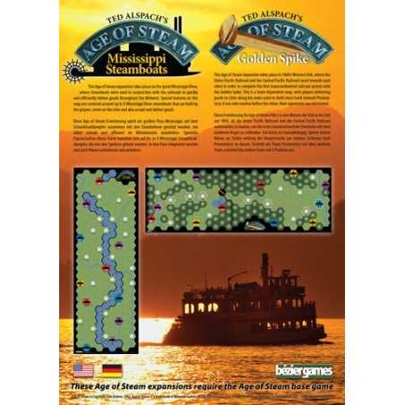 Mississippi Steamboats - Golden Spike expansion