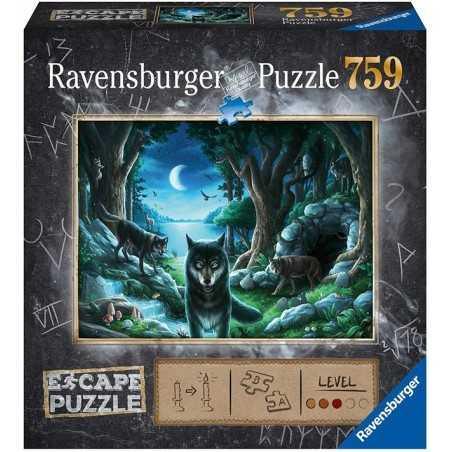 Escape Puzzle La manada de lobos
