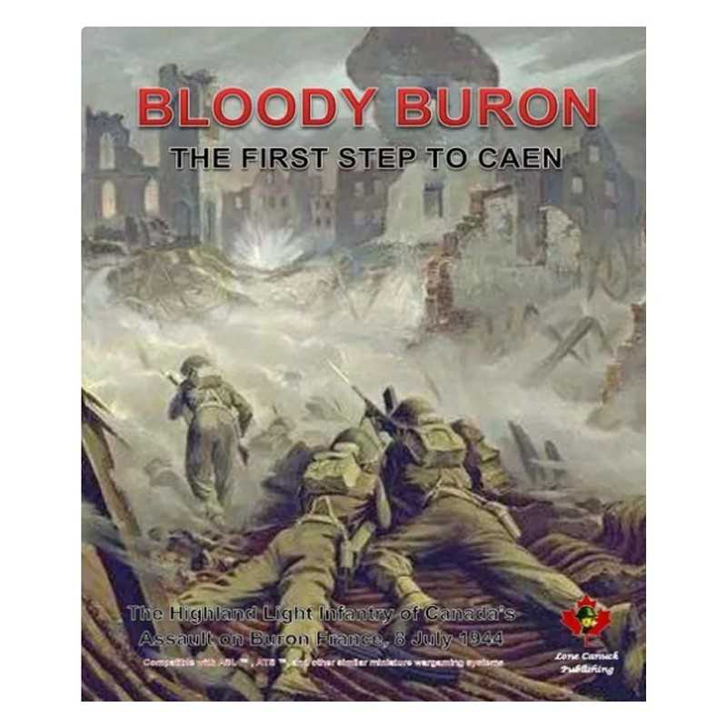 ASL BLOODY BURON - The First Step to Caen