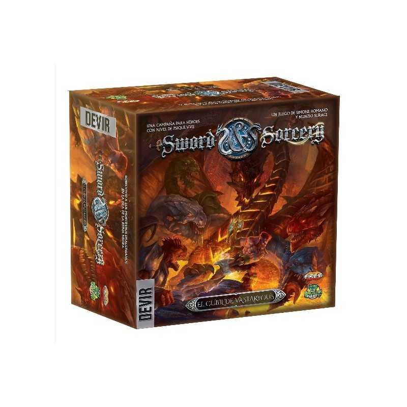 El cubil de Vastaryous Sword and Sorcery expansión