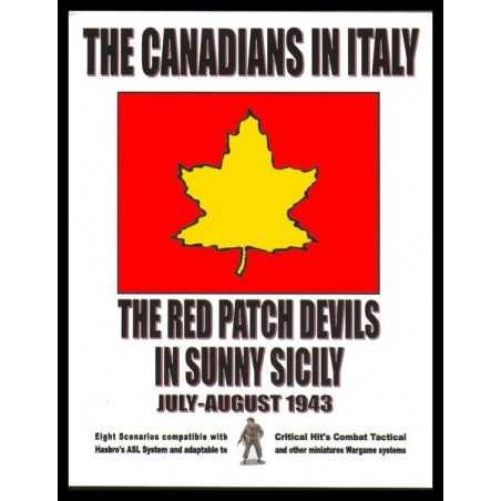 ASL Canadians in Italy Red Patch Devils in Sunny Sicily