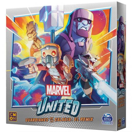 Guardianes de la Galaxia el Remix Marvel United