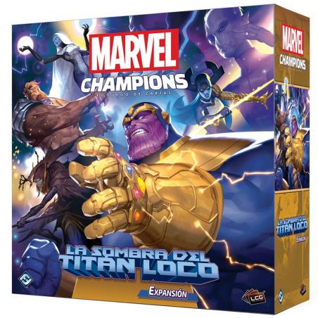 La sombra del titán loco Marvel Champions el Juego de Cartas