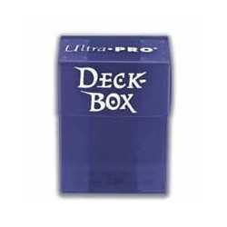 Solid Deck Box Azul (caja para cartas enfundadas)