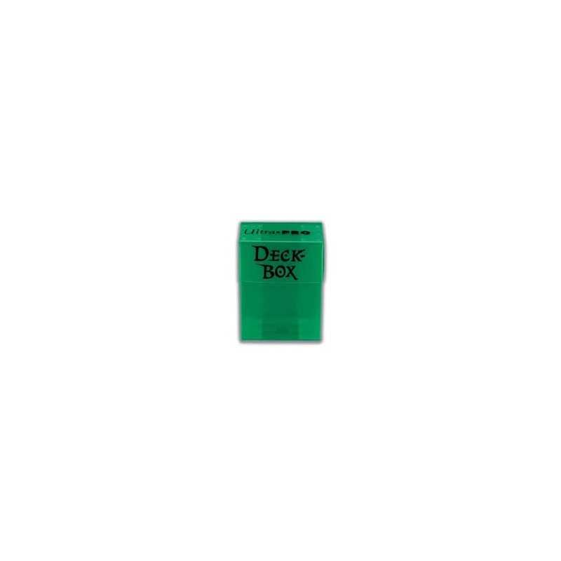 Solid Deck Box Verde (caja para cartas enfundadas)
