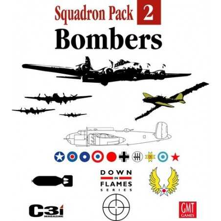 Down in Flames Squadron Pack 2 - Bombers