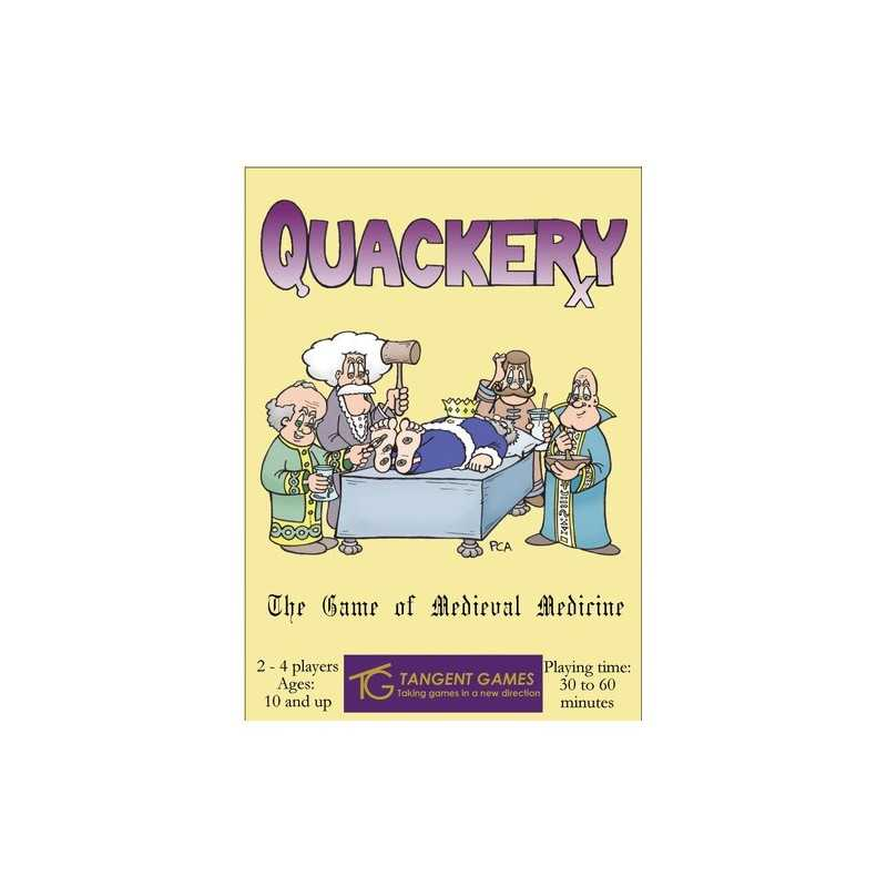 Quackery: The Game Of Medieval Medicine
