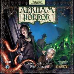 El Horror de Kingsport Arkham Horror Kingsport Horror Expansion