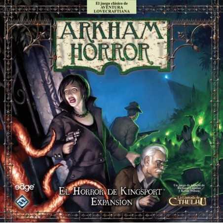 El Horror de Kingsport Arkham Horror Kingsport Horror Expansion