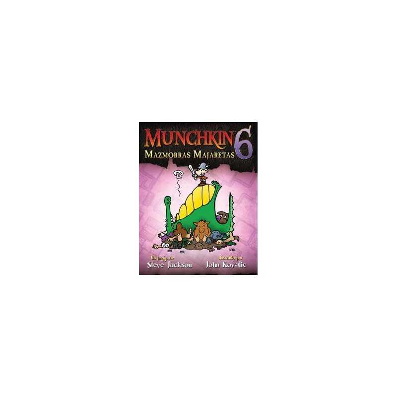 Munchkin 6 Mazmorras Majaretas