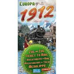 The Ticket to Ride Europa 1912