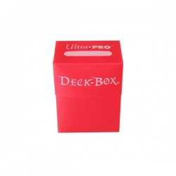 Solid Deck Box Red