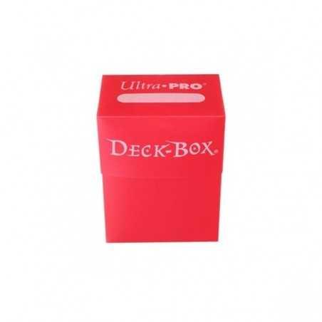 Solid Deck Box Roja (caja para cartas enfundadas)