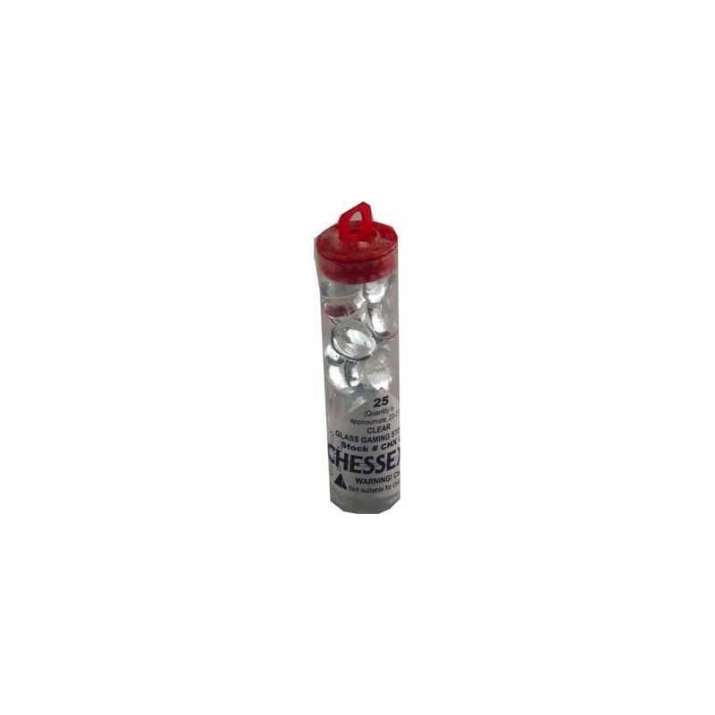 Contadores en tubo, cristal transparente