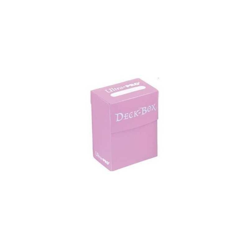 Solid Deck Box rosa (caja para cartas enfundadas)
