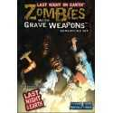 Zombies with Grave Weapons Mini Set Last Night on Earth