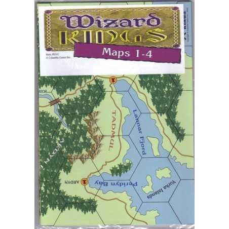 Wizard Kings Map Pack 1 (1-4)