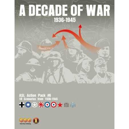 ASL Action Pack 6 A Decade of War