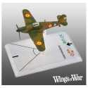 2- Wings of War WWII Hawker Hurricane Mk.I (Van den Hove)