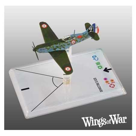 2- Wings of War WWII Dewoitine D520 - Thollon