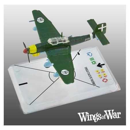 2- Wings of War WWII Junkers Ju.87R-2 Stuka (Sugaroni)
