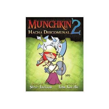 Munchkin 2 Hacha Descomunal ( nueva edicion revisada )