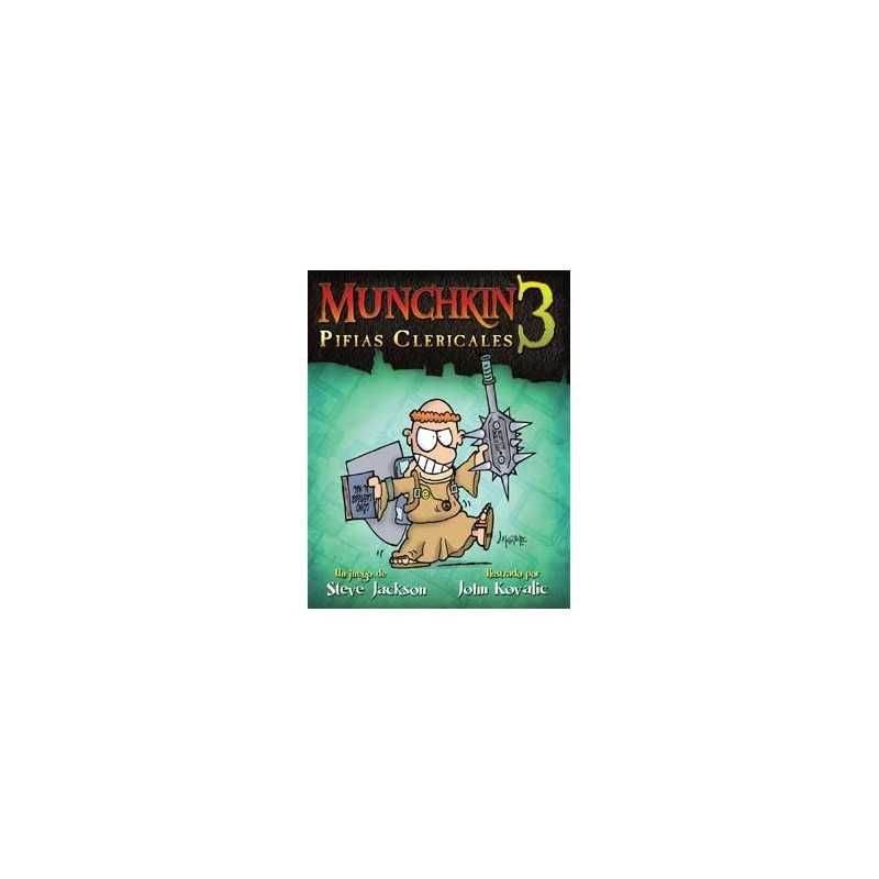 Munchkin 3 Pifias Clericales (Edicion revisada)