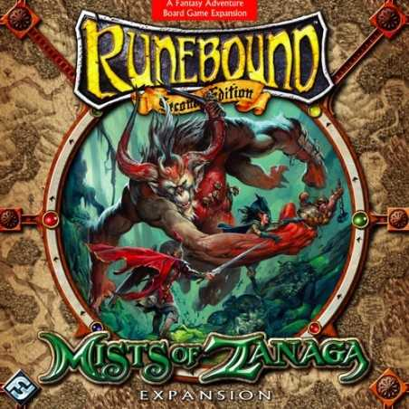 Runebound: Mists of Zanaga Expansion