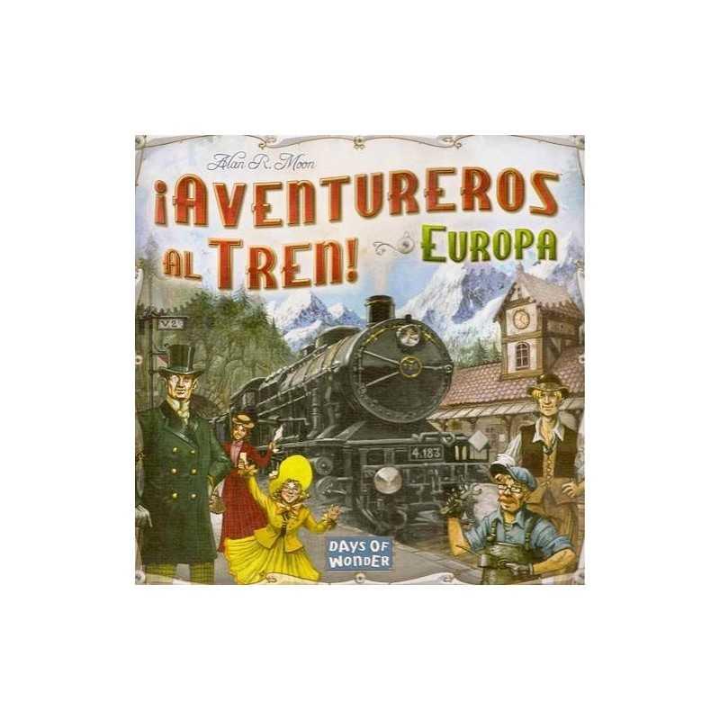 Resultado de imagen de aventureros al tren europa