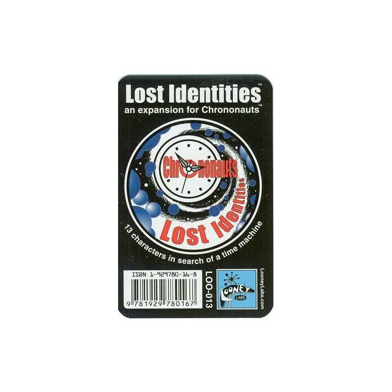 Chrononauts Lost Identities