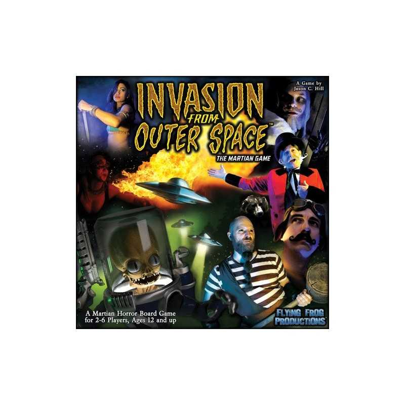 Invasion from Outer Space The Martian Game Last Night on Earth