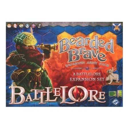 Battlelore Bearded Brave Expansion