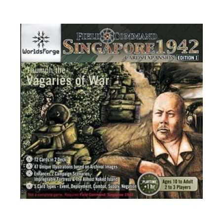 Field Command: Singapore 1942 Cards Expansion